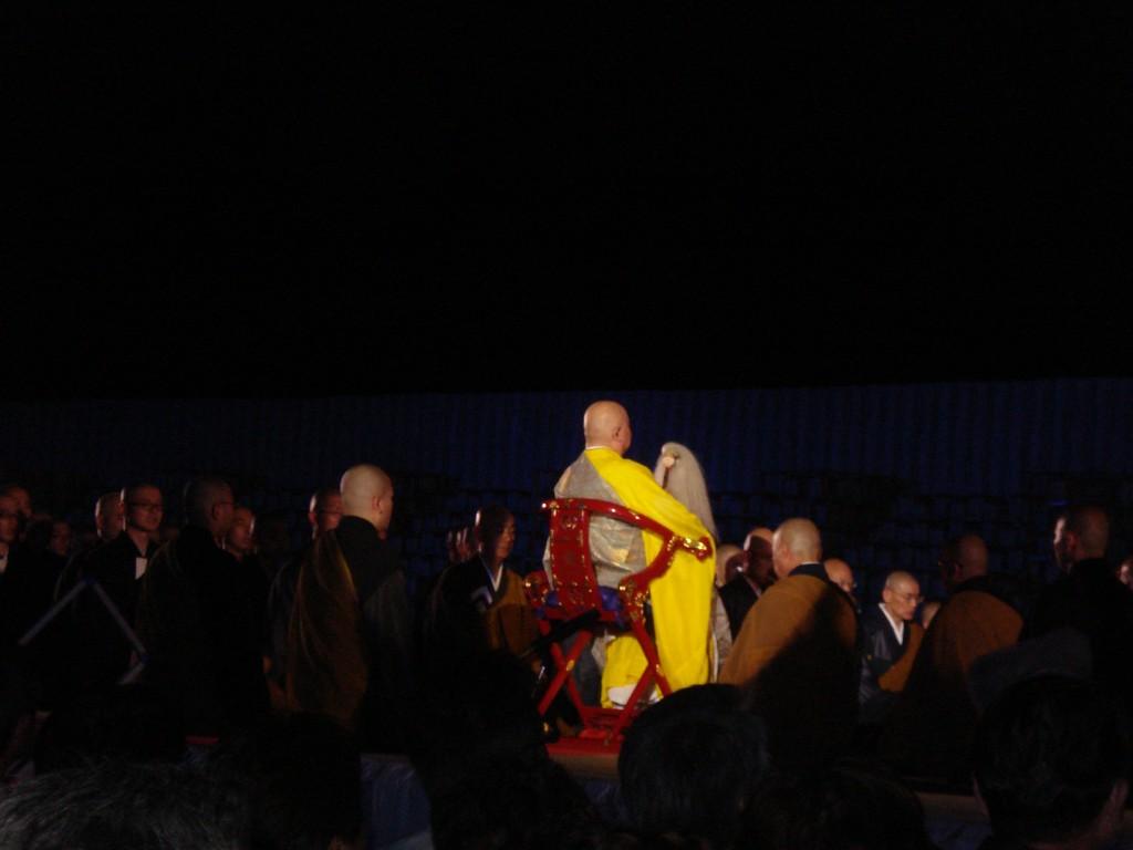 「曹洞宗本山 永平寺」高僧と150人余の雲水による読経