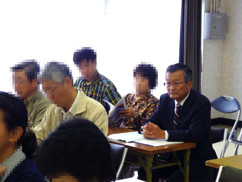 稲葉小金井市長(第4回講演会)