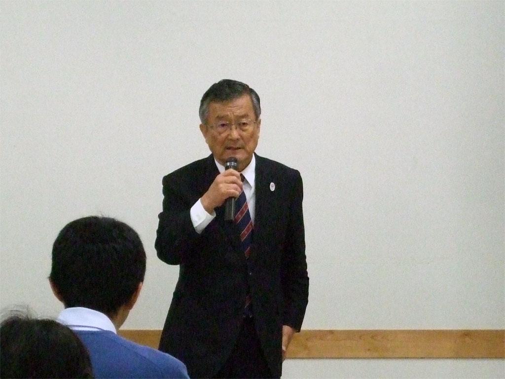 小金井市高次脳機能障害講演会(稲葉市長)