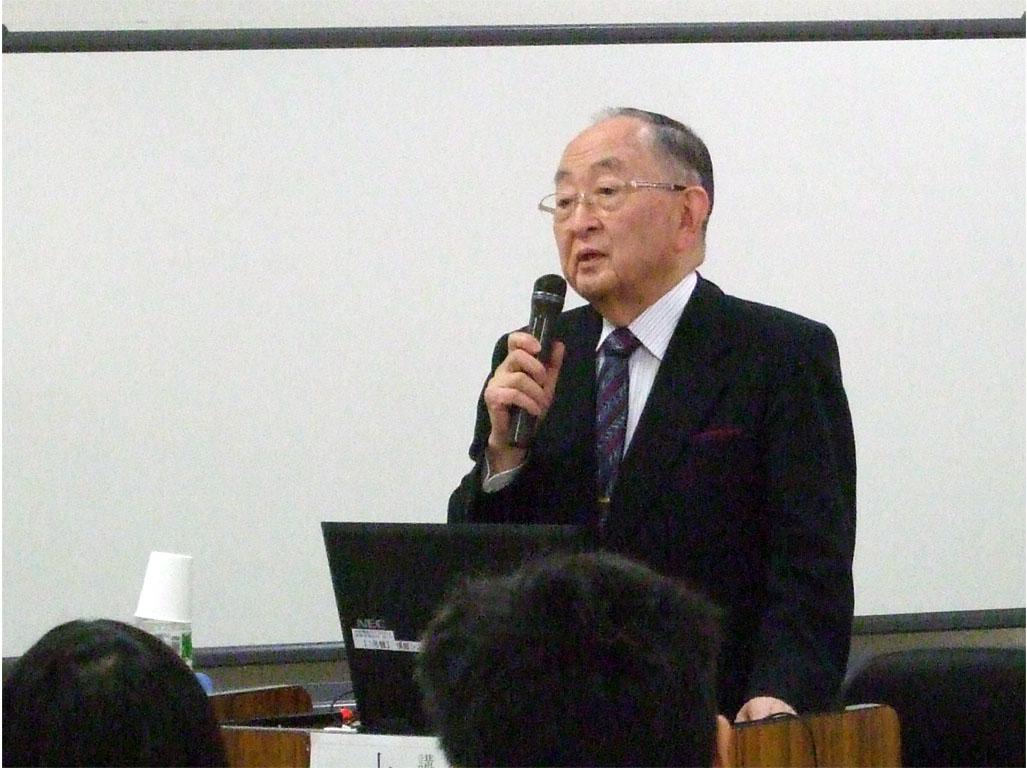小金井市高次脳機能障害講演会(上田敏先生)