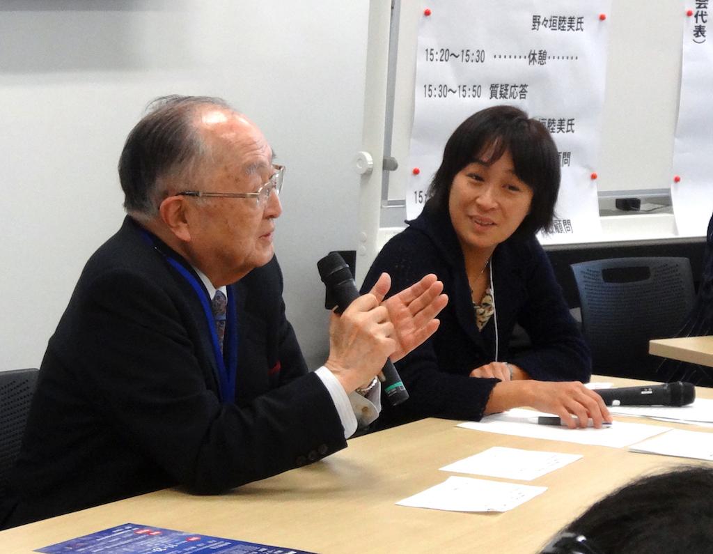 第8回講演会(上田敏先生と野々垣睦美氏)
