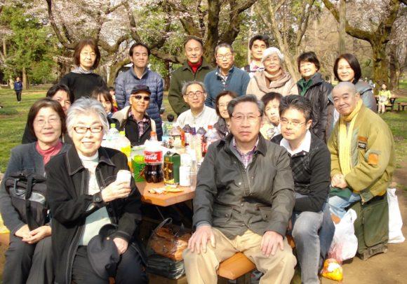 第11回交流会・交流会イン小金井公園