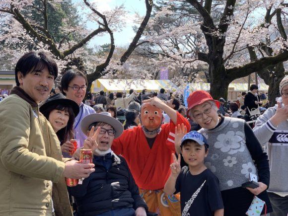 第19回交流会(小金井公園でひょっとこと一緒に)