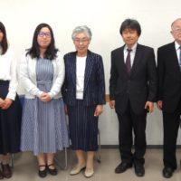 第12回講演会(山下さん、浜本さん、増村代表、緑川氏、上田顧問)